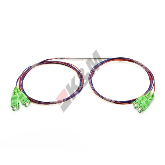 2x2  FBT Splitter Singlemode Dual Window with Loose Tube